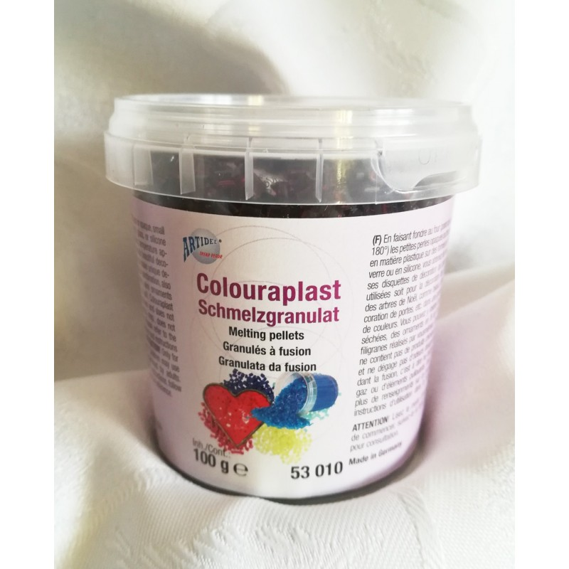 Granulat colouraplast - brązowy 100g
