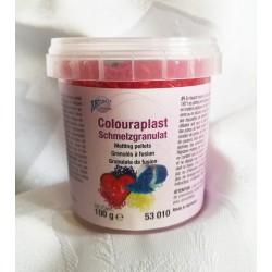 Granulat colouraplast - czerwony100g