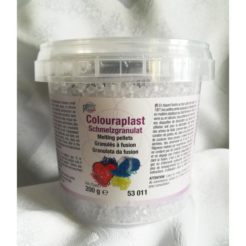 Granulat colouraplast - przezroczysty 200g