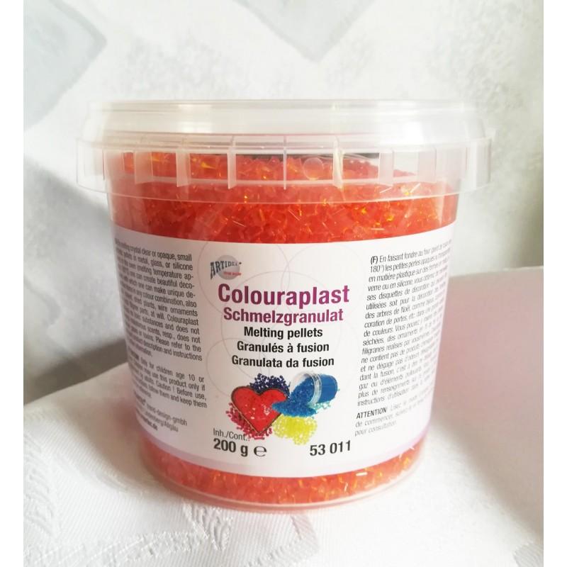 Granulat colouraplast -pomarańczowy 100g