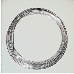 Drut florystyczny srebrny 0,5 kg