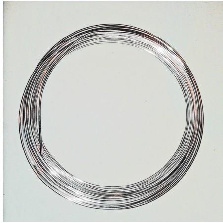 Drut florystyczny - kolor srebrny 0,5 kg