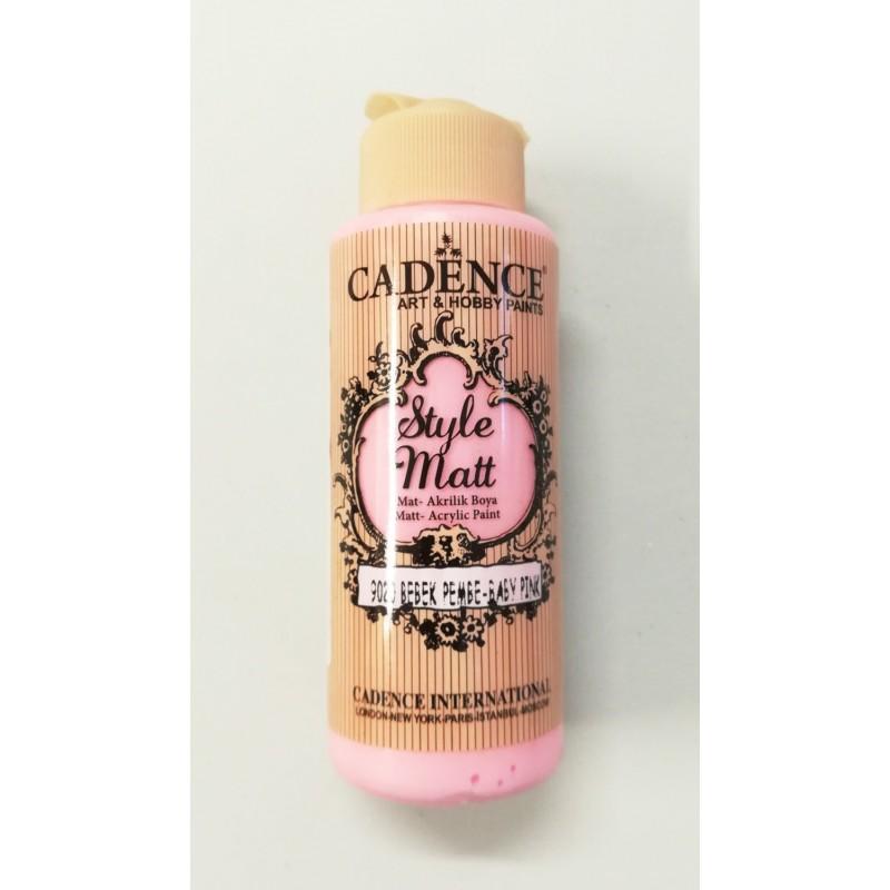 Style Matt  baby pink120 ml