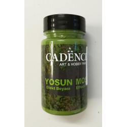 Pasta efekt mchu - dark green - 90 ml