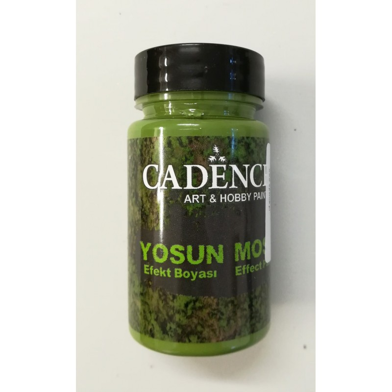 Pasta efekt mchu - dark green - 90 ml