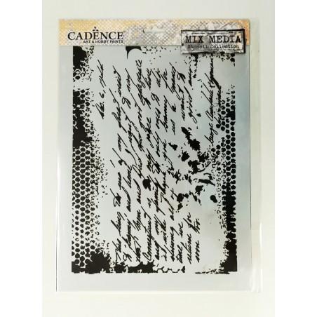Szablon Cadence MA01, A4