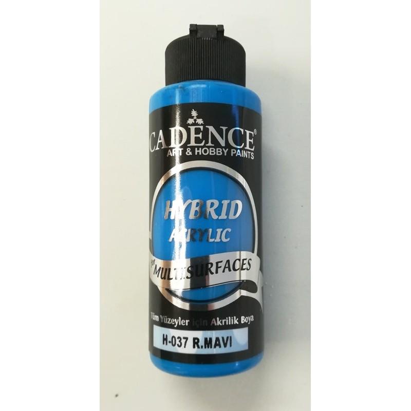 Farba  hybrydowa królewski niebieski 120 ml