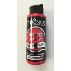 Farba  hybrydowa karmazynowa czerwień 120 ml