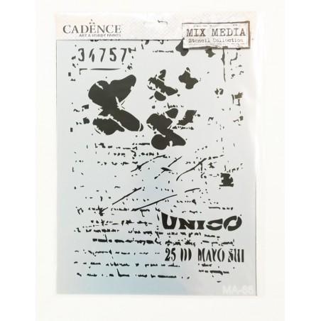 Szablon A4 Ma 66, Cadence