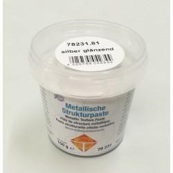 Pasta strukturalna metaliczna - srebrna