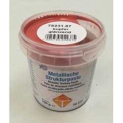 Pasta strukturalna metaliczna - miedź