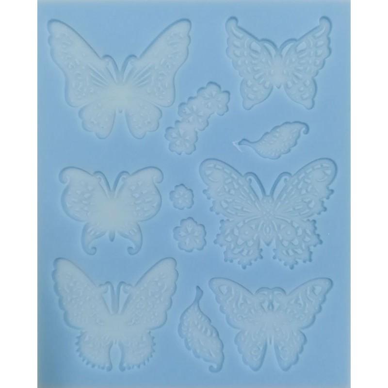 Forma silikonowa motyle 113 x 90 mm