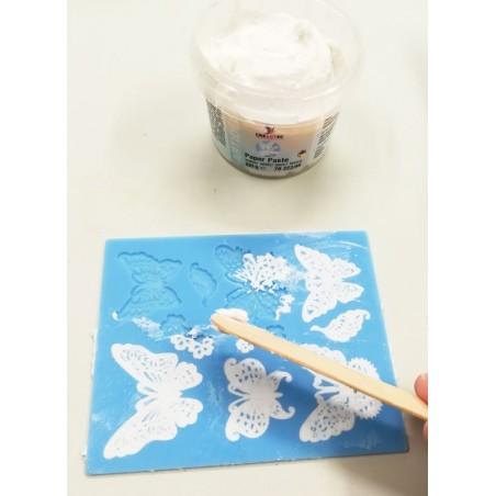 Pasta papierowa do tworzenia koronek 100 g, biała
