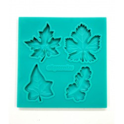 Forma silikonowa - liście