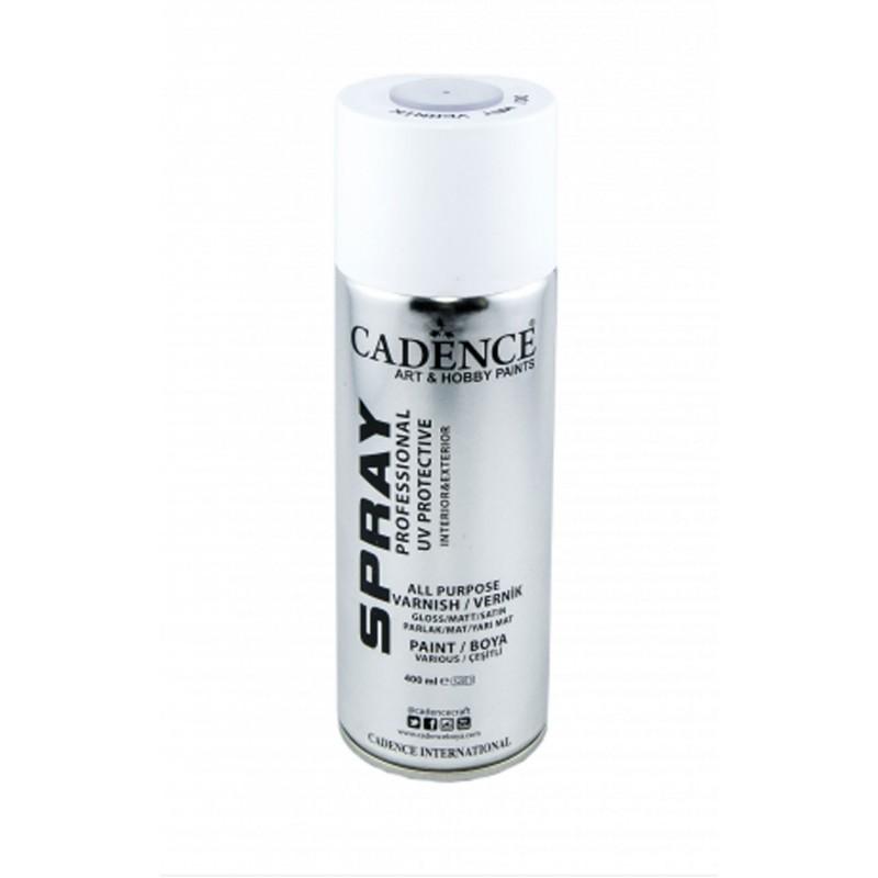 Lakier wykończeniowy w sprayu perła 000  400 ml, Cadence