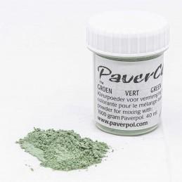 Pigment Pavercolor zielony...