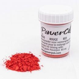 Pigment Paverpol czerwony 40ml