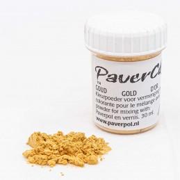 Pigment Pavercolor złoty 30 ml