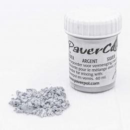 Pigment Pavercolor srebrny...