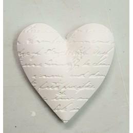 Serce z napisem