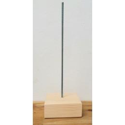 Cokól metalowo- drewniany...
