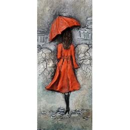 Obraz z parasole z zestawem...